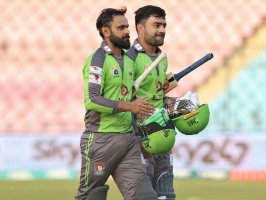 Cricket-Rashid & Hafeez