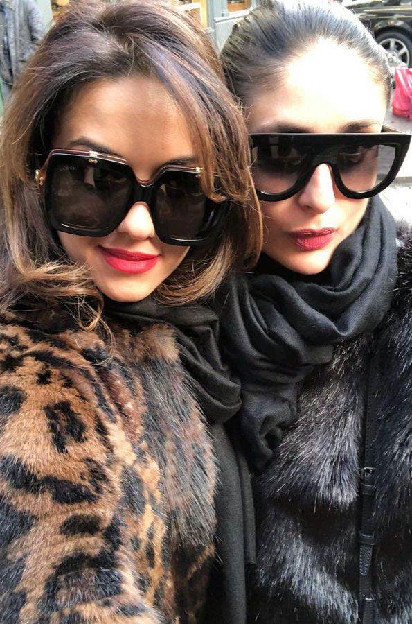 Natasha Poonawalla and Kareena Kapoor