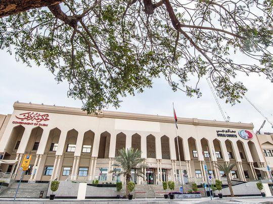 Stock Dubai courts