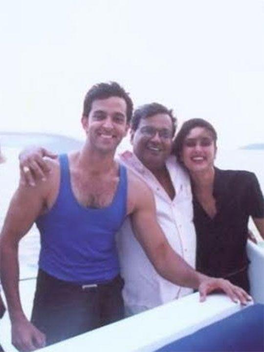 Subhash Ghai, Hrithik Roshan and Kareena Kapoor