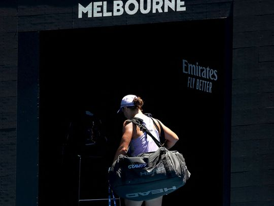 Ash Barty exited the Australian Open at the quarter-finals