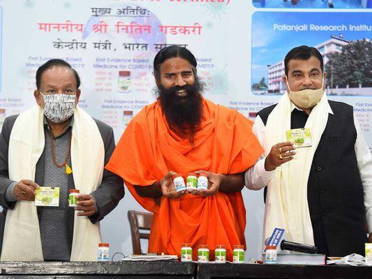 Baba Ramdev releases Patanjali Harsh Vardhan