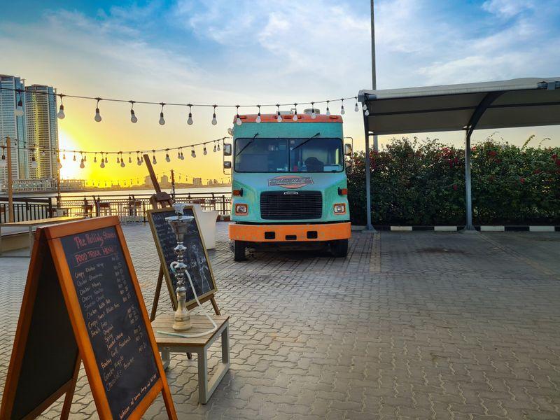Hilton Garden Inn Rolling Food Truck