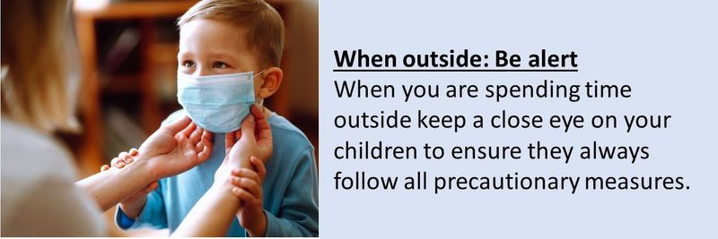 How to keep kids safe outside during the COVID-19 pandemic