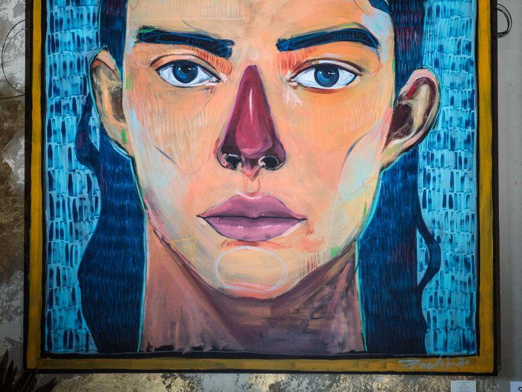 Rashid Al Mullah Artwork