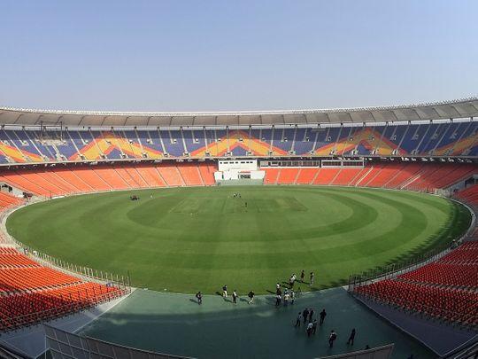 Sardar Patel Stadium in Motera