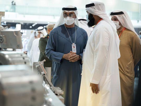 Sheikh Mohammed bin Zayed Al Nahyan IDEX