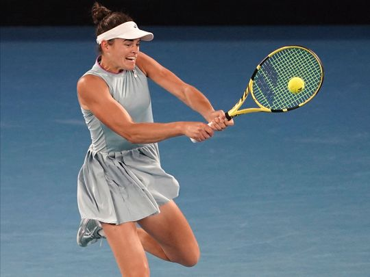 Jennifer Brady lost to Naomi Osaka in the Australian open final