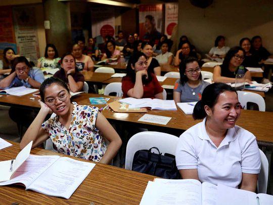 Philippine Filipino nurse IELTS
