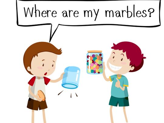 Phrases English sayings marbles