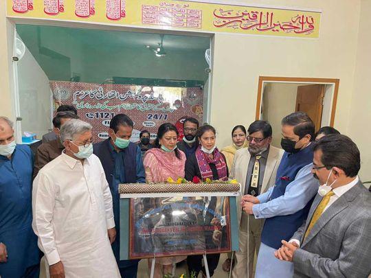 Sindh Law and Environment Adviser Barrister Murtaza Wahab