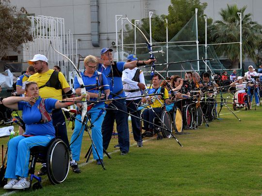 Some of the world's best para archers return to action as the 7th Fazza Para Archery World Ranking Tournament - Dubai 2021 gets under way at the Dubai Club for People of Determination grounds, on Tuesday.