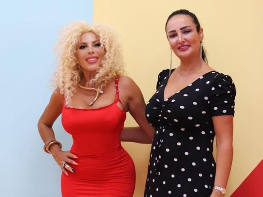 Afida Turner with Rania Naffa, Founder of The Selfie Kingdom