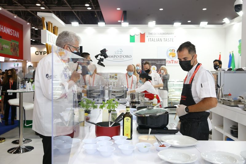 Gulfood Pasta Challenge