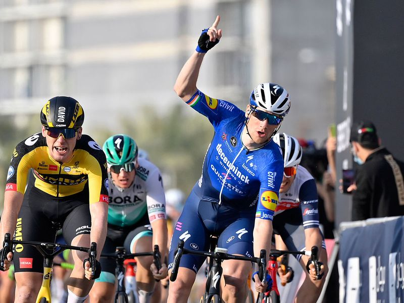 Ireland's Sam Bennett claims win on Hope Probe Stage of UAE Tour on Marjan Island