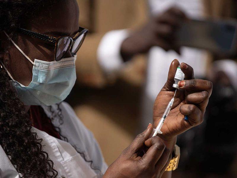 SEnegal Dakar Sinopharm vaccine