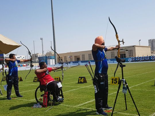 Top Indian archers including Harvinder Singh and Shyam Sundar Swami started their campaigns on a strong note as the 7th Fazza Para Archery World Ranking Tournament - Dubai 2021 got under way with the qualification rounds, on Tuesday.