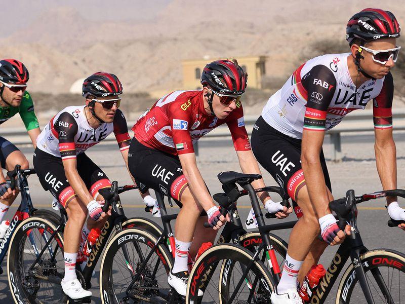 UAE Tour 2021 Stage 4 Tadej Pogacar