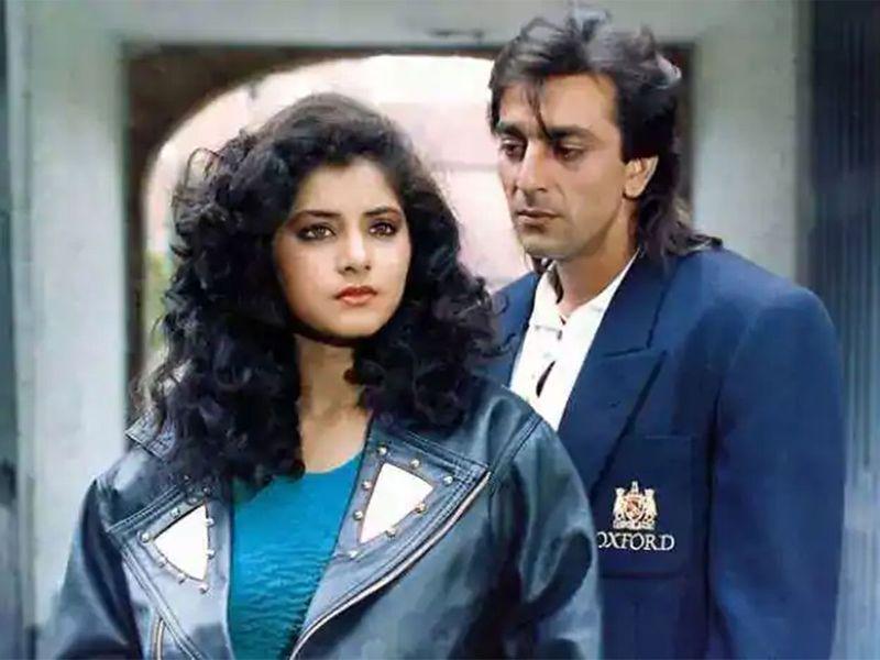Divya Bgarti and Sanjay Dutt