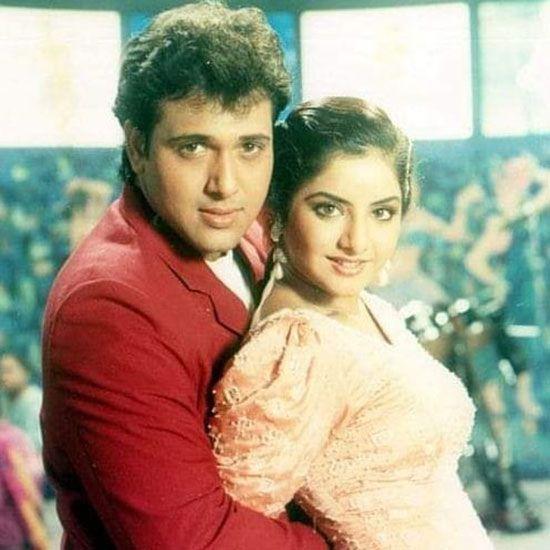 Divya Bharti and Govinda