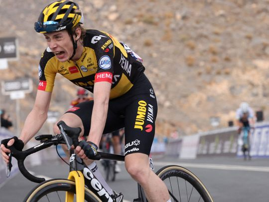 Jonas Vingegaard (Jumbo-Visma) won the Impossible Is Possible Stage of the third edition of the UAE Tour.