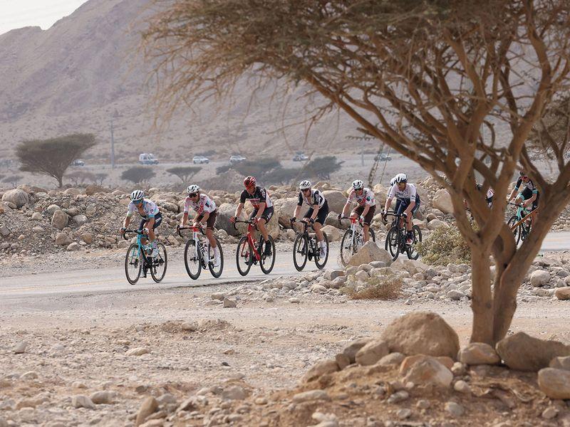 Jonas Vingegaard wins Stage 5 of the UAE Tour at Jebel Jais