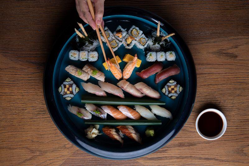 Mami Umami Sushi platter