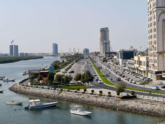 Stock Al Khor Corniche in Ras Al Khaimah