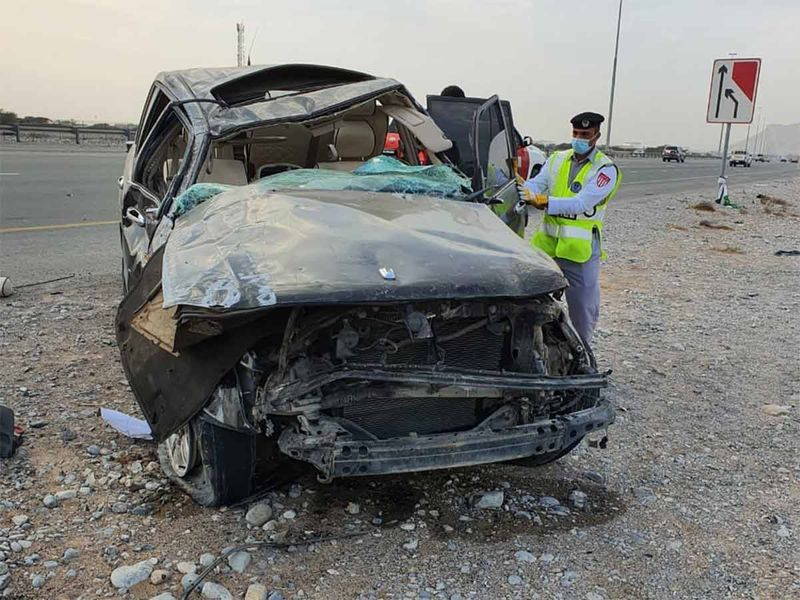 UAE: Brothers killed in accident on Emirates Road