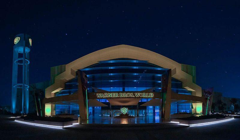 Warner Brothers in Abu Dhabi