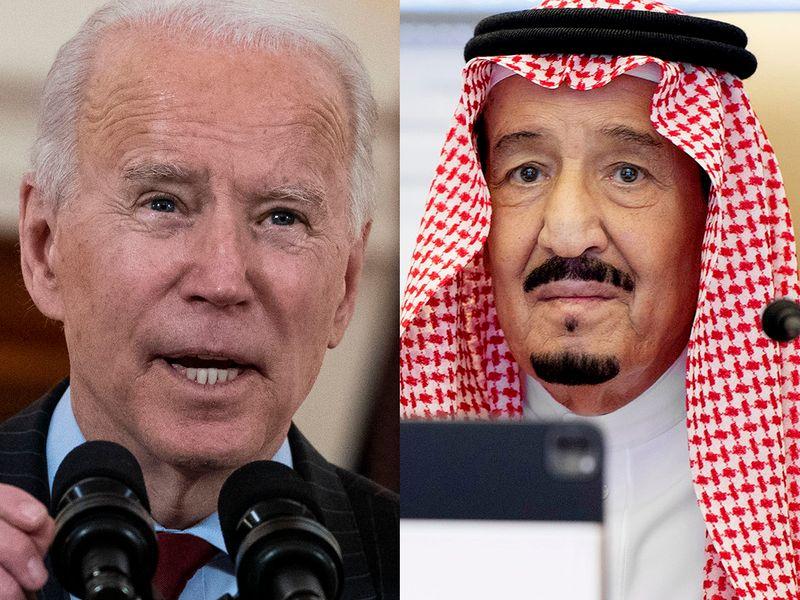 Saudi Arabia: King Salman in first call with US President Biden