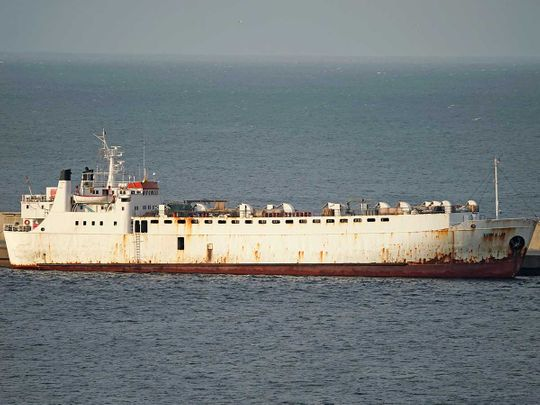 Livestock ship