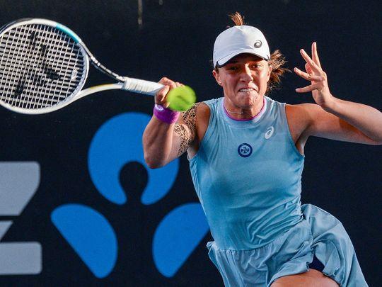 Iga Swiatek defeated Belinda Bencic in Adelaide