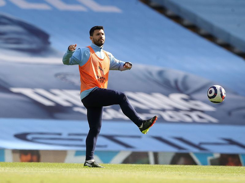 Sergio Aguero starts for Manchester City against West Ham