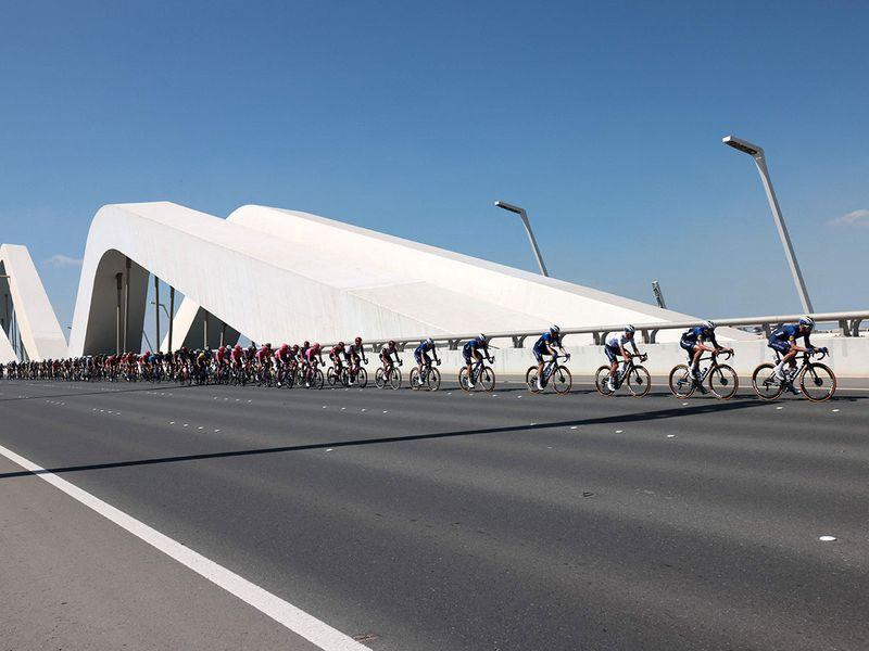 Tadej Pogacar wins the UAE Tour 2021, Caleb Ewan wins stage