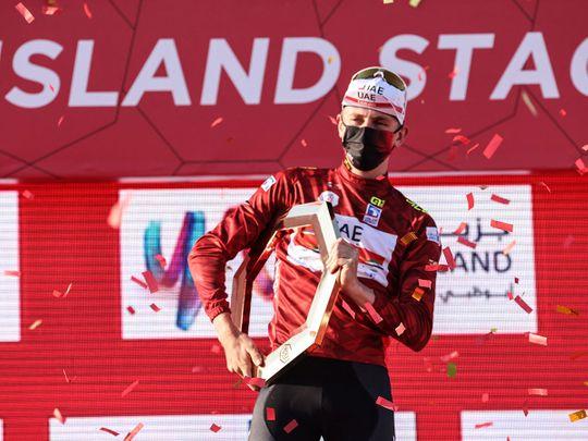 Tadej Pogacar wins the UAE Tour 2021