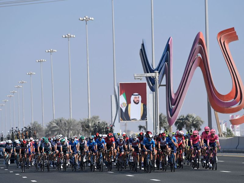 Photos: UAE Team Emirates' Tadej Pogacar lands home glory in UAE Tour
