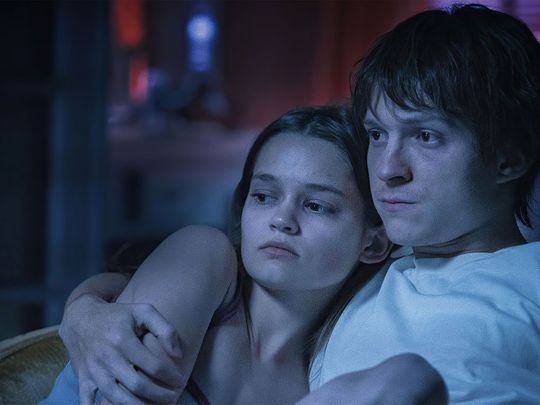 Tom Holland and Ciara Bravo in Cherry-1614415198504