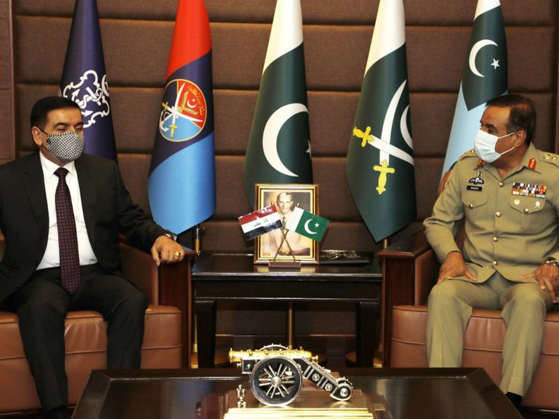 Pakistan, Iraq agree to bolster military cooperation