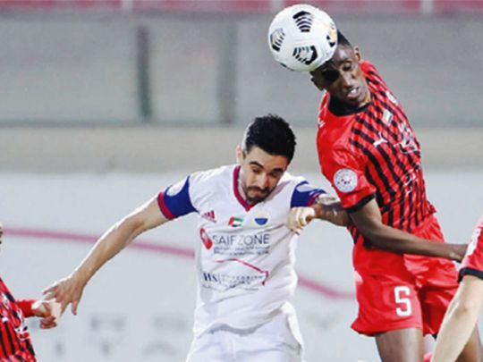 Al Jazira rose above Sharjah in the AGL