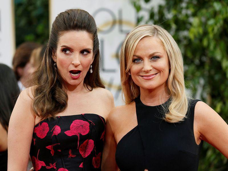 Golden Globes hosts Tina Fey and Amy Poehler