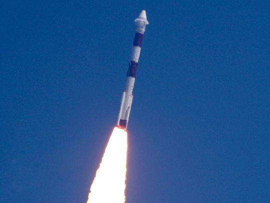 PSLV-C51, carrying Brazilian satellite Amazonia-1