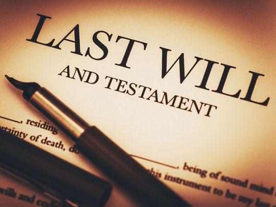 inheritance, will