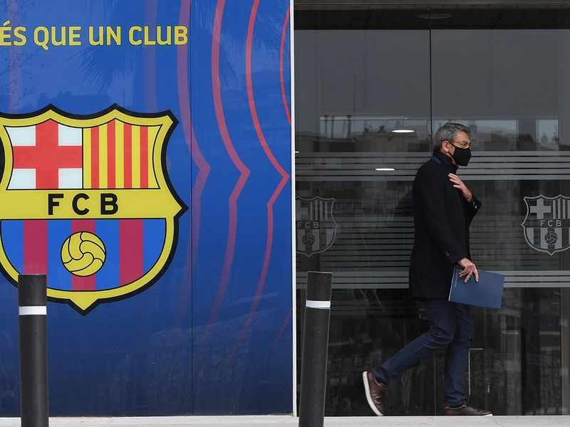 Barcelona FC offices were raided on Monday after 'Barcagate'.