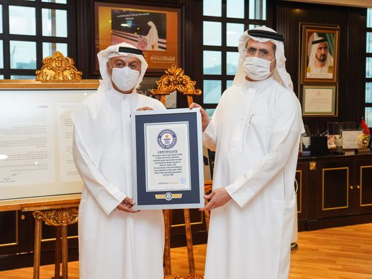 DEWA Guinness World Record