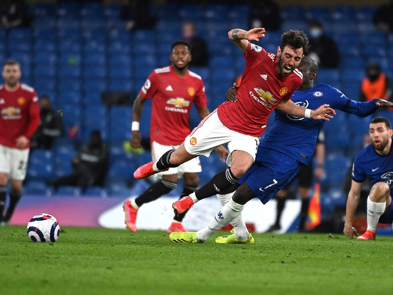 Goalless draw between Chelsea and Man United as VAR drama continues.