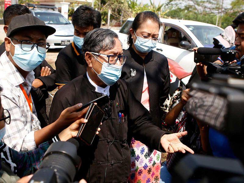 Myanmar Suu Kyi lawyer