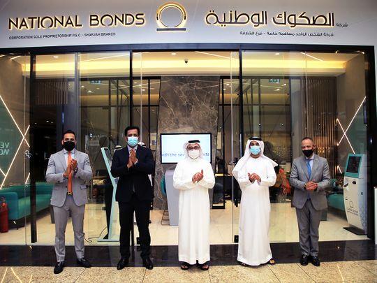 National Bonds Senior Management Celebrates New Sharjah Branch