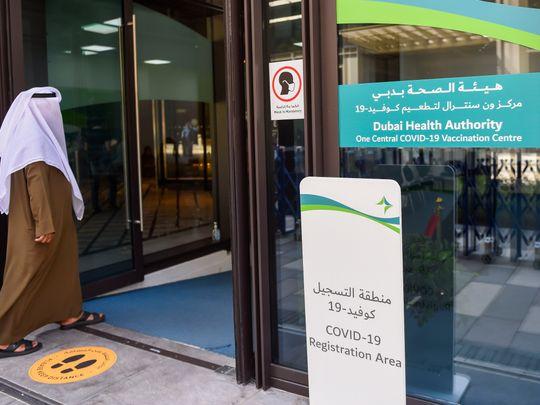 One Central COVID-19 vaccine centre