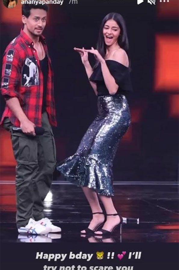 Ananya Pandey and Tiger Shroff